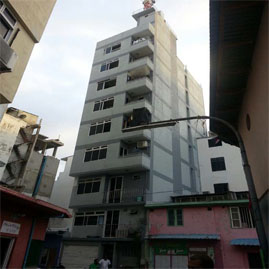 A ten storey building by Indian Ocean Charters