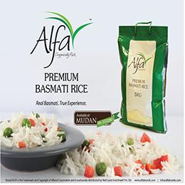 Premium Basmati Rice – Alfa brand
