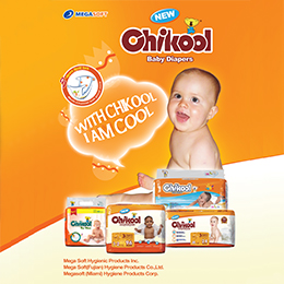 Baby Diapers and Pants - Chikool Brand