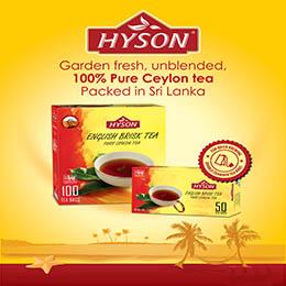Pure Ceylon Tea - Hyson Brand