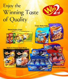 Biscuit and Crunch - Win2 Brand